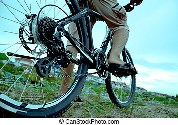 riding mountain bike adventure