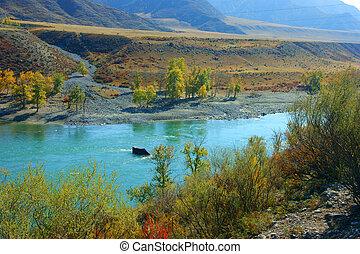 River in Bugle Altai
