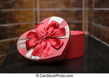 gift in the form of heart