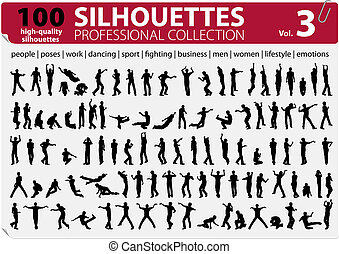 100 Silhouettes Professional Collection Vol. 3