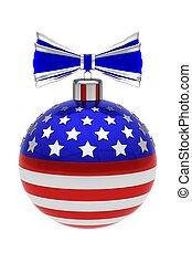 US Christmas ball
