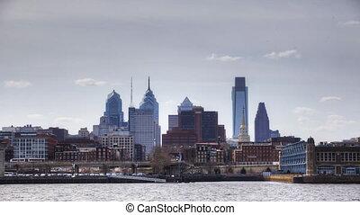 Philadelphia across the Delaware - Timelapse of Philadelphia...