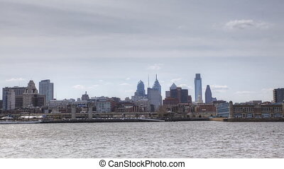 Philadelphia across the River - A Timelapse of Philadelphia...