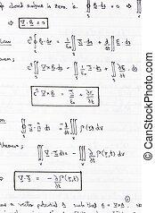 física, ecuaciones,