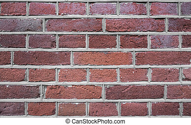 Red brick wall texture - Old red brick wall texture Abstract...