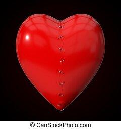 repaired heart