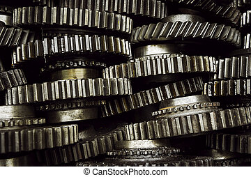 stack of gearwheel