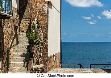The home on sea view
