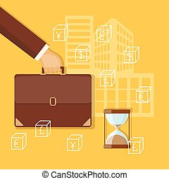 investment - Flat design modern vector illustration concept...