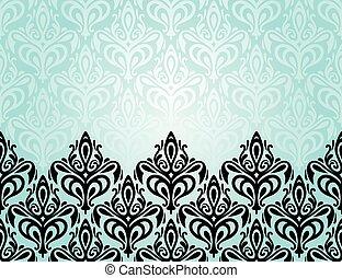 Turquoise decorative background