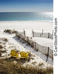 Panama City Beach, located in the panhandle of Florida.