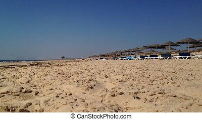 View of Praia Verde in Castro Marim, Algarve, Portugal...