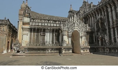 Ananda Temple - Ancient Ananda Temple in Bagan in Myanmar.