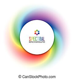 Spectral background