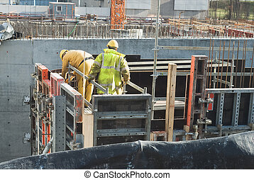 Men Working on a Construction Job
