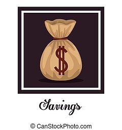 Saving Money design - Saving Money digital design, vector...