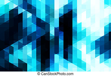 Blue background - abstract blue color background with square...