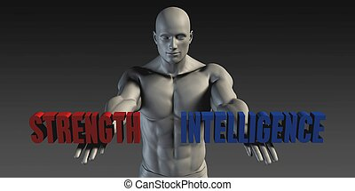 Strength or Intelligence as a Versus Choice of Different...