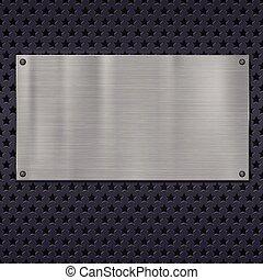 Metallic stars texture, pattern