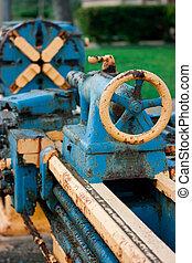 Machine tool - Old machine tool used on sugar mill