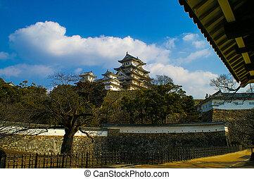 Majestic Castle of Himeji in Japan