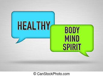 Healthy - body, mind and spirit