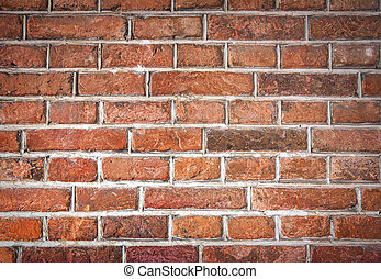 Red brick wall texture. - Old red brick wall texture....
