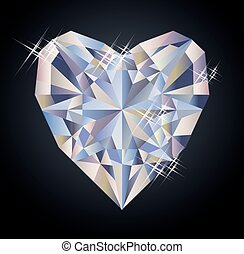 Casino background with hearts diamond poker element, vector...