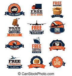 Free Shipping Icons