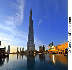 Burj Dubai, aka Burj Khalifa set to be the tallest building...