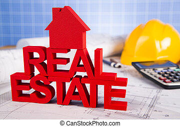Real estate with house model - Commercial Real Estate and...