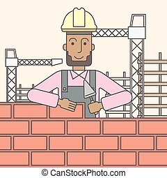 Bricklayer.,