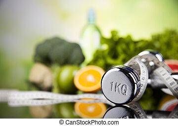 begrepp,  vitamins, kost,  fitness