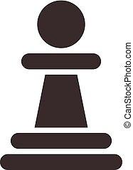 Chess icon - chess pawn
