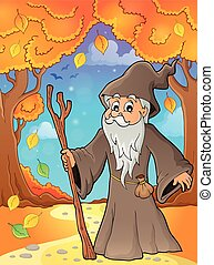 Druid theme image 5 - eps10 vector illustration.