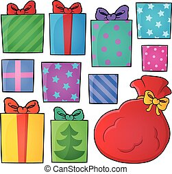 Image with gift theme 4