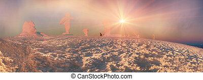 Goverla for Christmas - Highest peak of the Ukrainian...