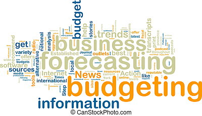 Budgeting wordcloud