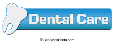 Dental Care With Tooth Symbol