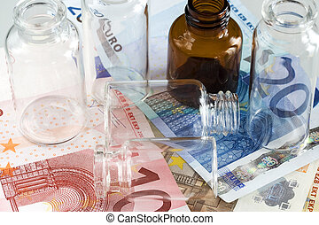 Money and pharmaceutical products