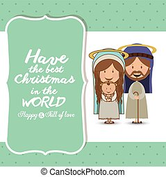 Merry Christmas design - Merry Christmas concept with...