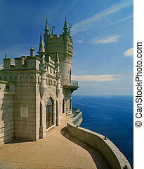 Swallow's Nest Lastivchine Gnizdo architectural and...