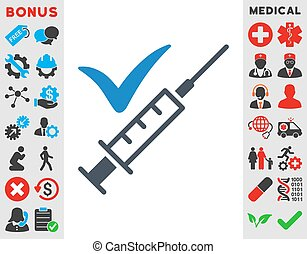 Done Vaccination Icon