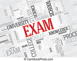 Exam - EXAM Word education collage