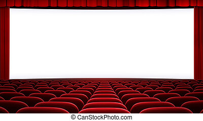 wide cinema screen backgound (aspect ratio 16:9) - cinema...