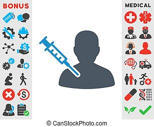 Patient Vaccination Icon