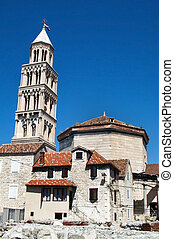 Split Cathedral of Saint Domnius - split city croatia...