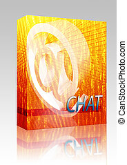 Online chat box package