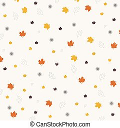 Autumnal background for your design