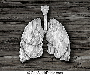 Human Lung Concept - Human lung concept or healthy lungs...